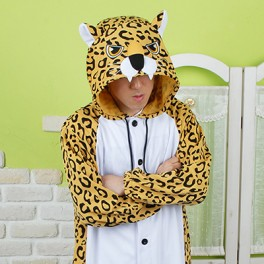"""Кигуруми """"Коричневый Леопард"""""""