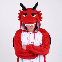 "Кигуруми ""Красный Дракон"""