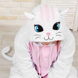 """Кигуруми """"Белый Кот"""""""