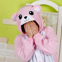 "Кигуруми ""Розовый Медведь"""