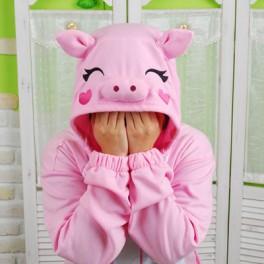 """Кигуруми """"Розовый Поросёнок"""""""