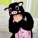 """Кигуруми """"Чёрный Поросёнок"""""""
