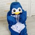 """Кигуруми """"Голубой Пингвин"""""""